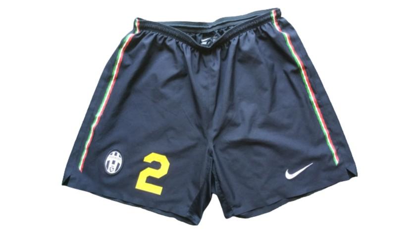 Motta's Juventus Match Shorts, 2010/11