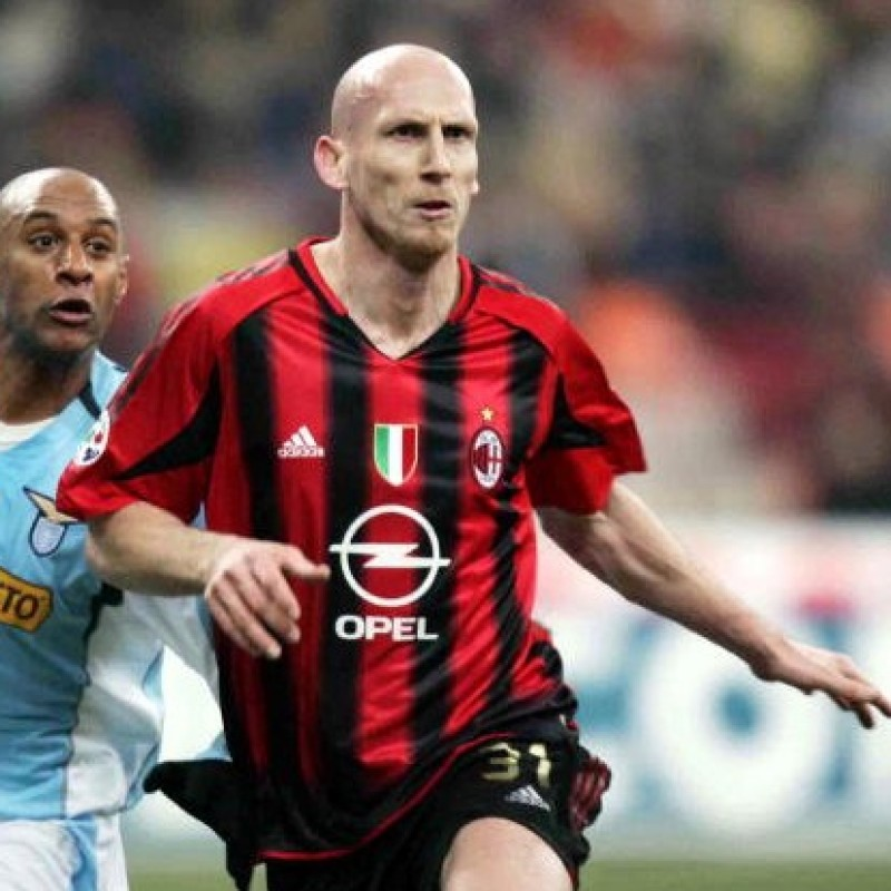 Stam's Official Milan Signed Shirt, 2004/05