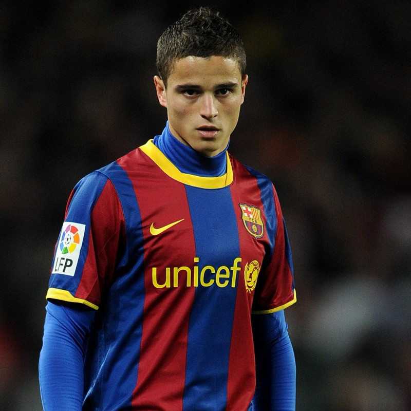 Afellay's Official Barcelona Signed Shirt, 2010/11