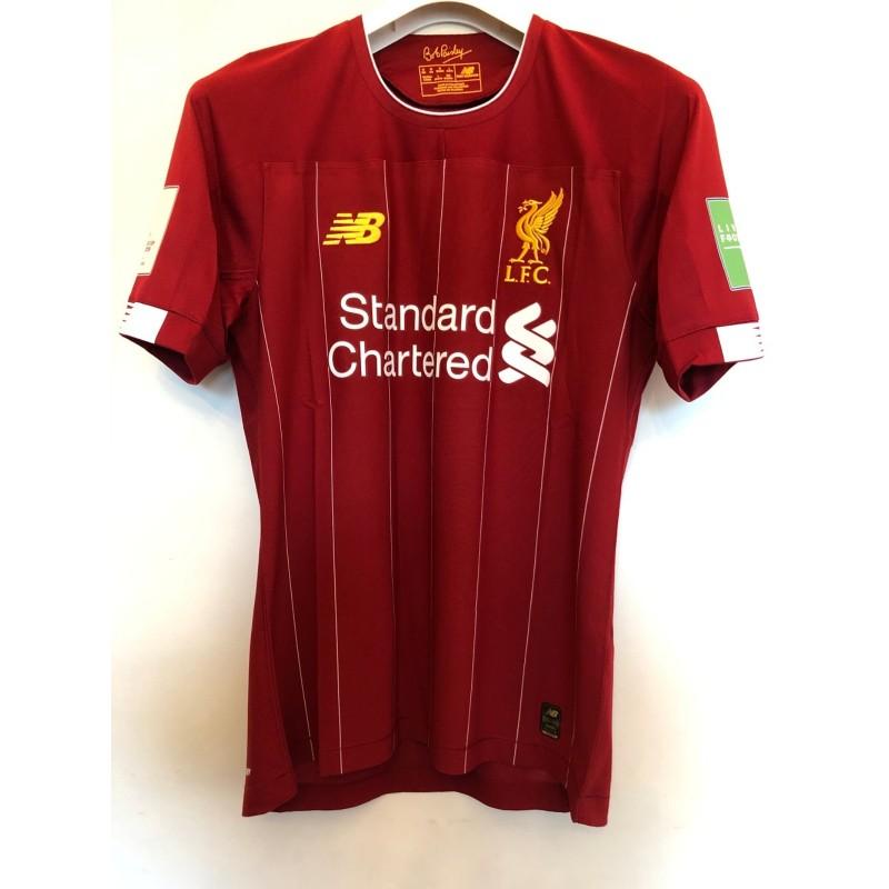 Salah's Match Shirt, Monterrey-Liverpool 2019