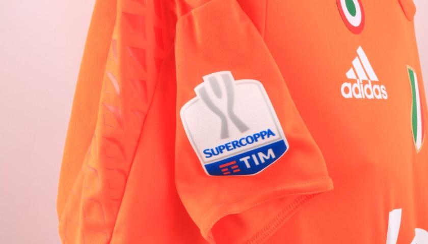 Buffon's Juventus Match Shirt, Supercoppa Doha 2016