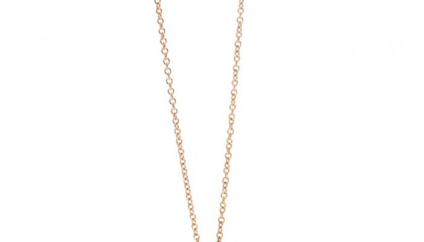 Nudo Pendant in pink gold