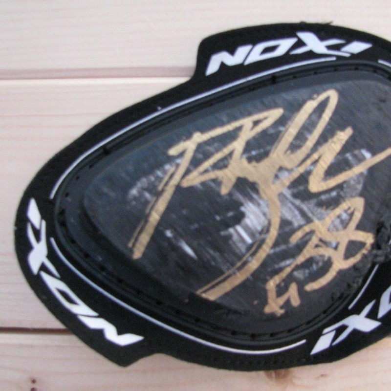 Bradley Smith Worn Knee Slider - signed