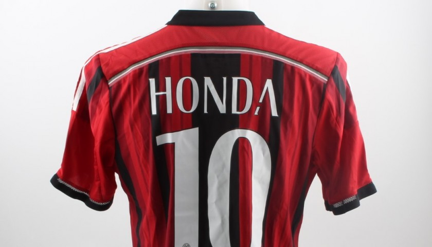 Honda Match issued/worn Shirt, Tim Cup 2014/15
