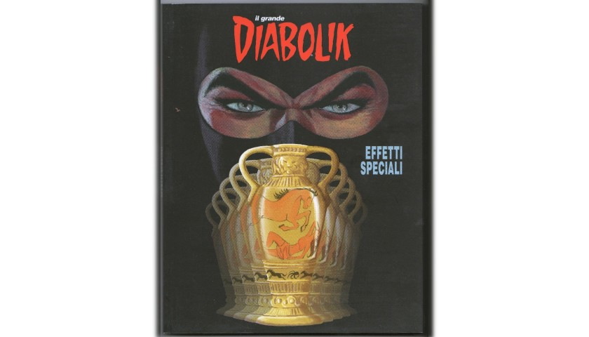 "Diabolik ""Effetti Speciali"" Comic - Signed by Barison and Gomboli"