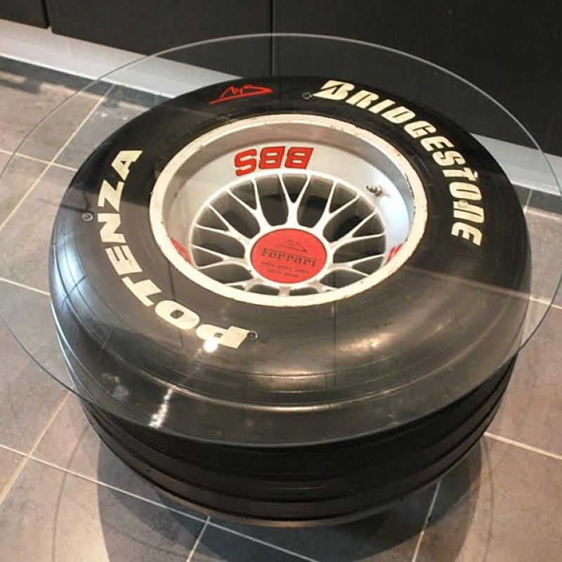 Ferrari F1-2000 Wheel-Tyre Coffee Table