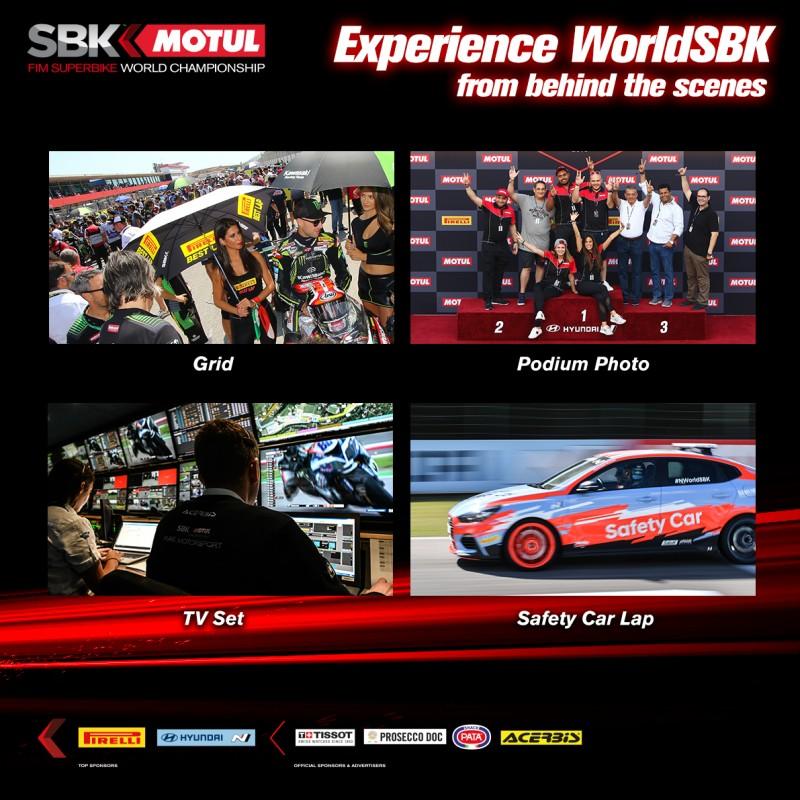 WorldSBK Behind the Scenes Experience