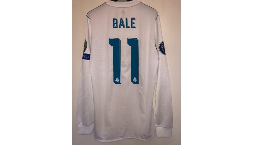 Bale's Real Madrid Match Shirt, Kiev 2018 Final