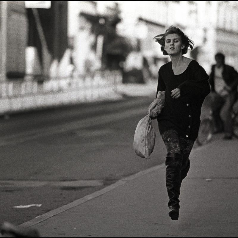 """The Running Girl"" Photograph by Mario Boccia"