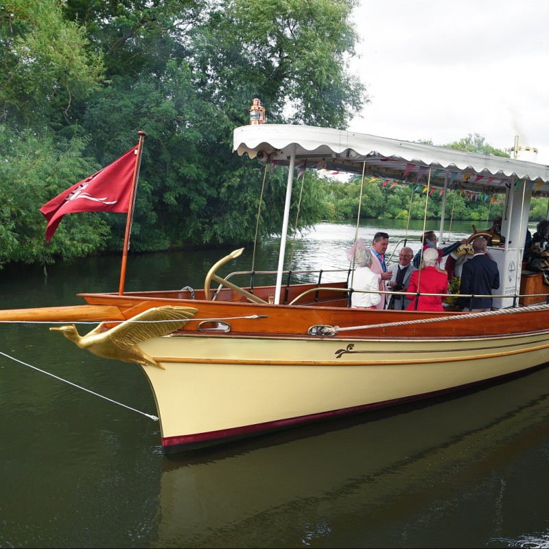 Henley Regatta Vintage Steam Boat Experience for 4 people on Saturday 2nd July 2022
