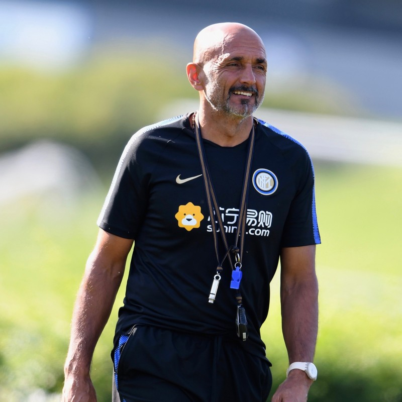 Spalletti's Inter 2018/19 Issue Signed Shirt