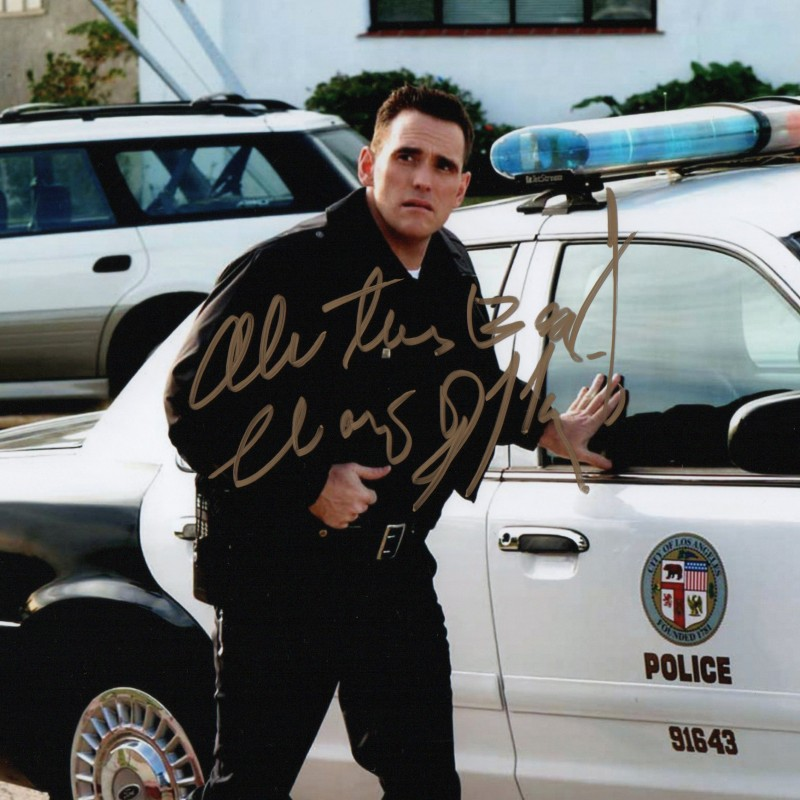 Photograph Signed by Actor Matt Dillon