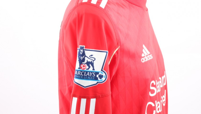 Match issued Torres Liverpool shirt, Premier League 10/11
