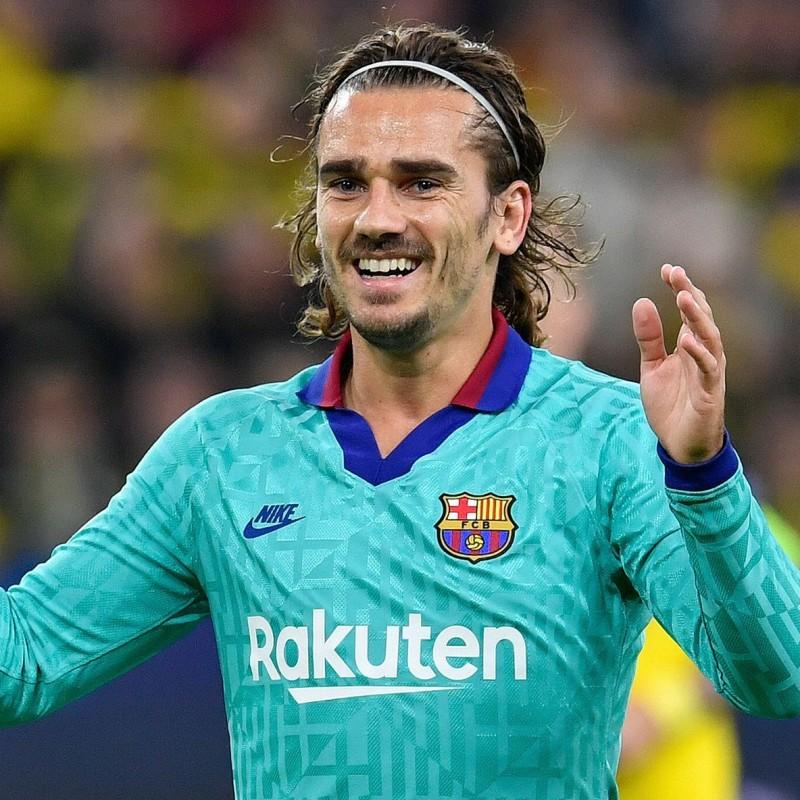 Griezmann's Official Barcelona Signed Shirt, 2019/20