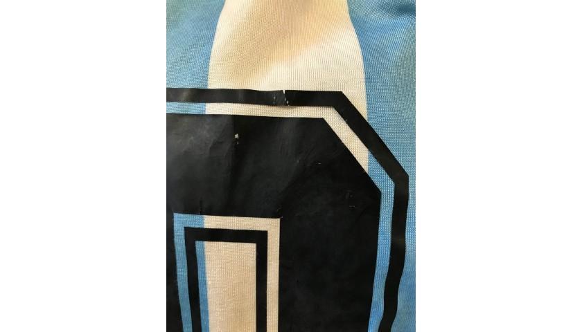 Maradona's Argentina Match Shirt, 1990/91