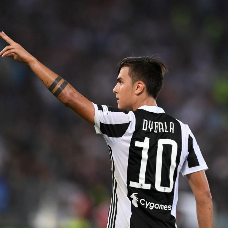 Official 2017/18 Dybala Juventus Shirt, Signed