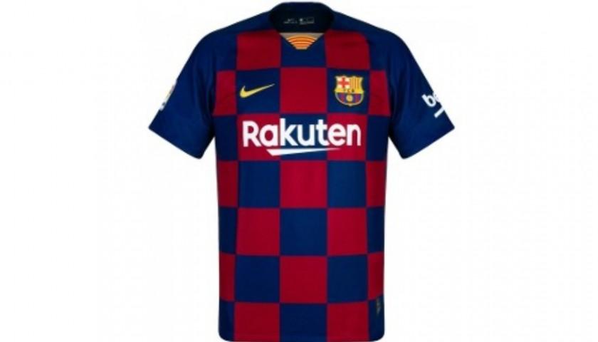 premium selection fd4d9 16fe1 Official FC Barcelona Shirt Signed by Rakitic, 2019/20 - CharityStars