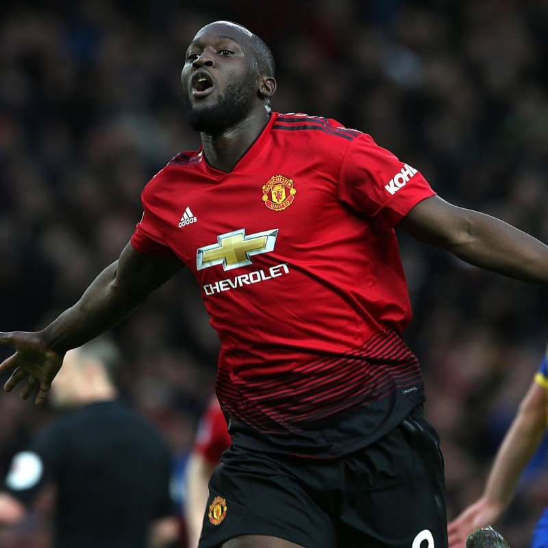 Lukaku's Manchester United Match Shirt, 2018/19 Season