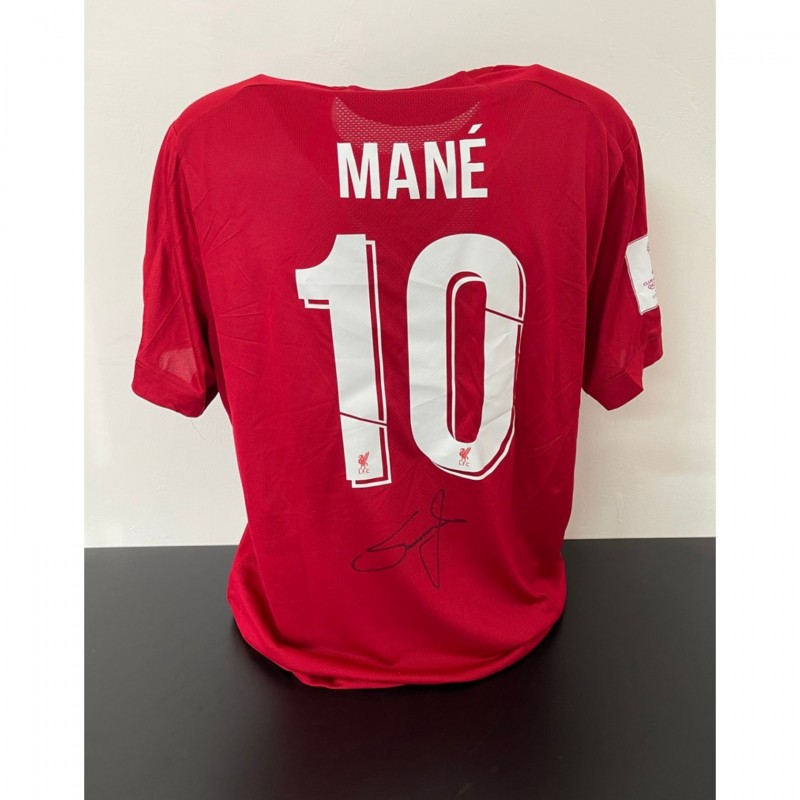 Mane's Official Liverpool Signed Shirt, 2019/20