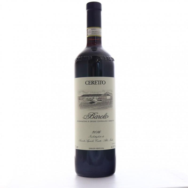 Bottiglia Ceretto Barolo 2016