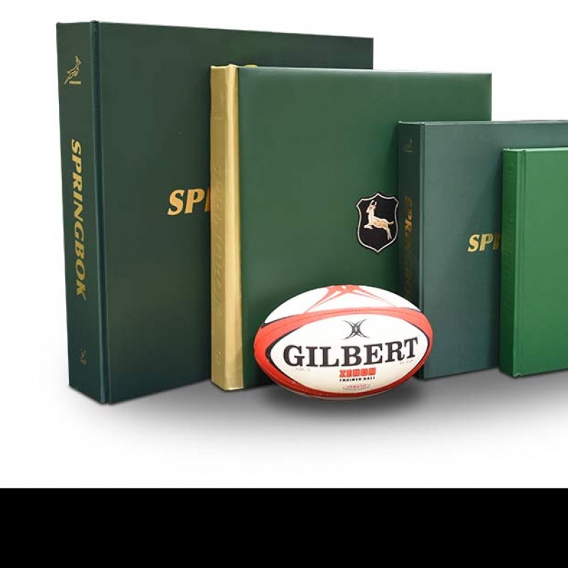 South African Springbok Rugby Opus Limited Edition Signed by Two Boks Captains