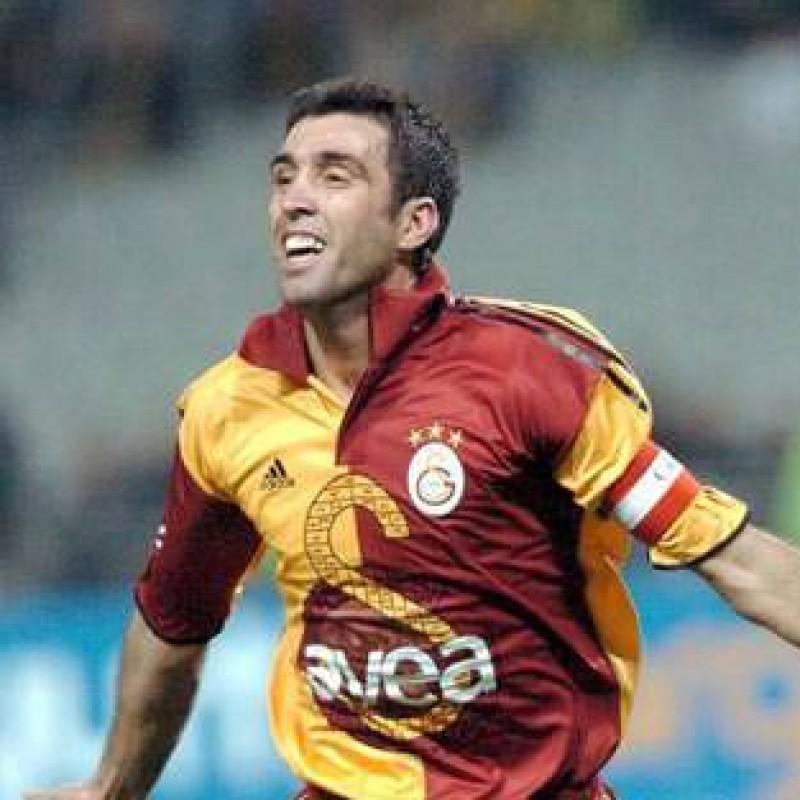 Galatasaray Training Shirt - Signed by Hakan Sukur