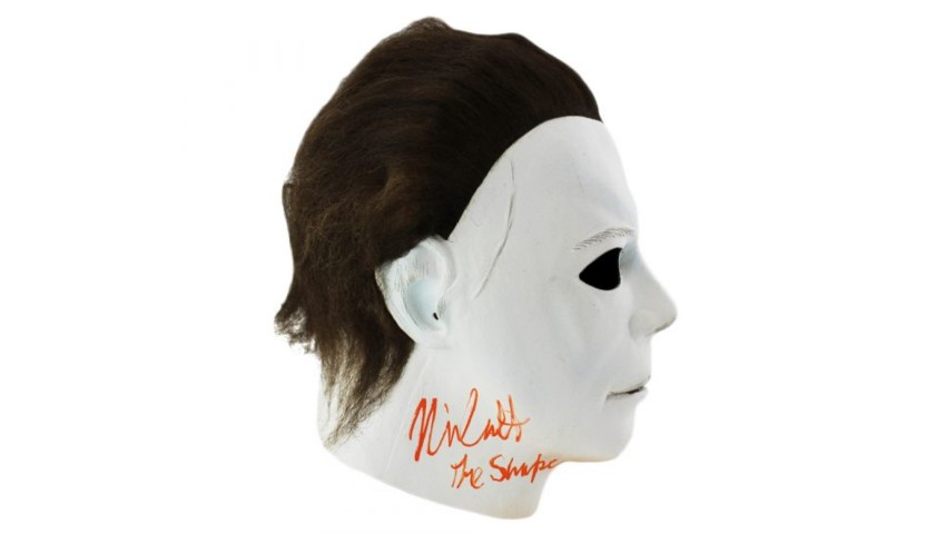 "Nick Castle ""Michael Myers"" Signed ""Halloween"" Replica Mask"