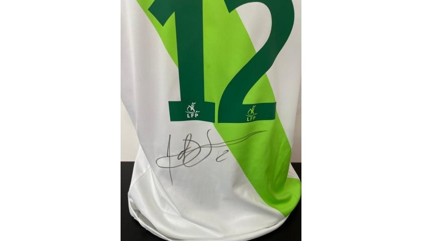 Matuidi's Official Saint Etienne Signed Shirt, 2009/10