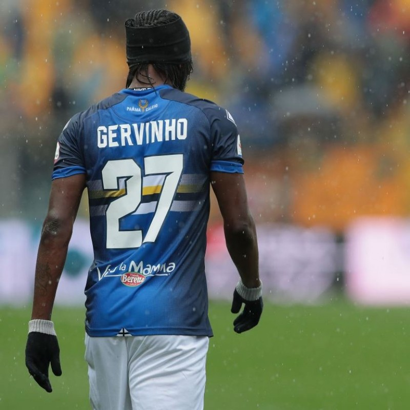 Gervinho's Worn Kit, Parma-Sampdoria - #Blucrociati