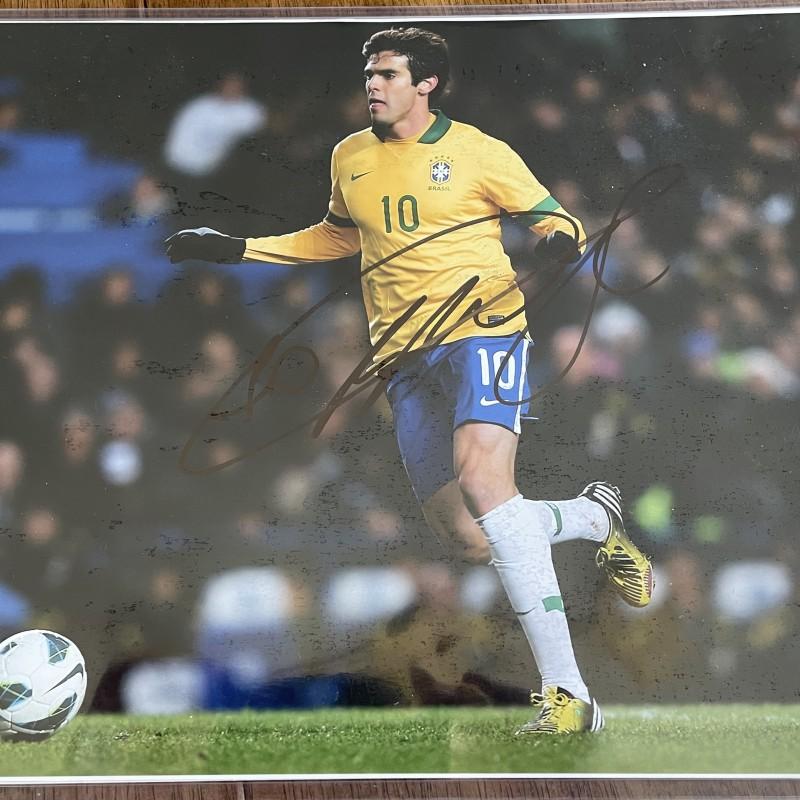 Kaká Signed Photo