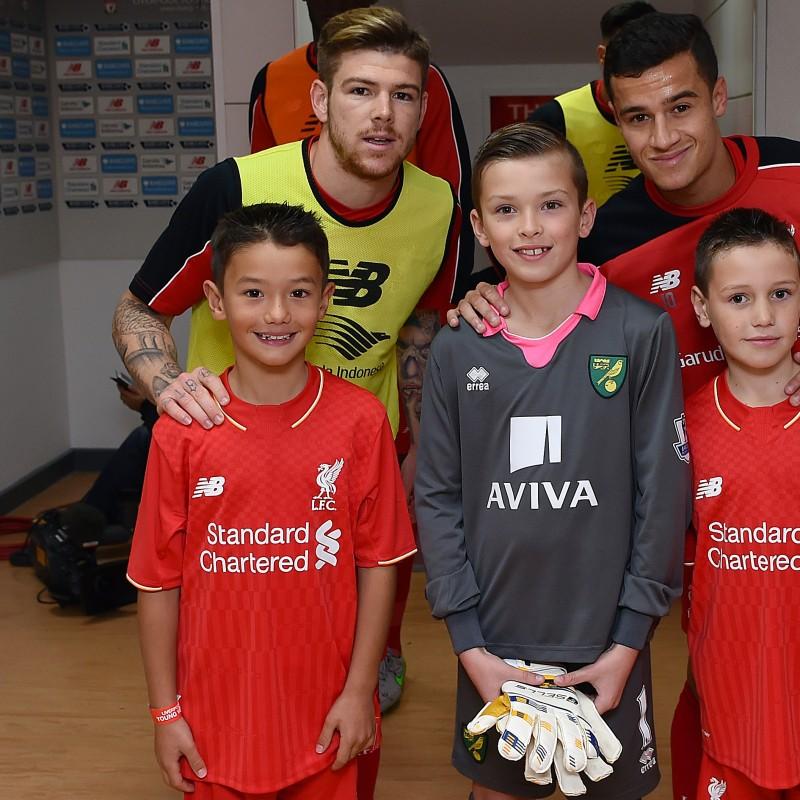 Mascot at Liverpool FC v Southampton – Sunday 25th October