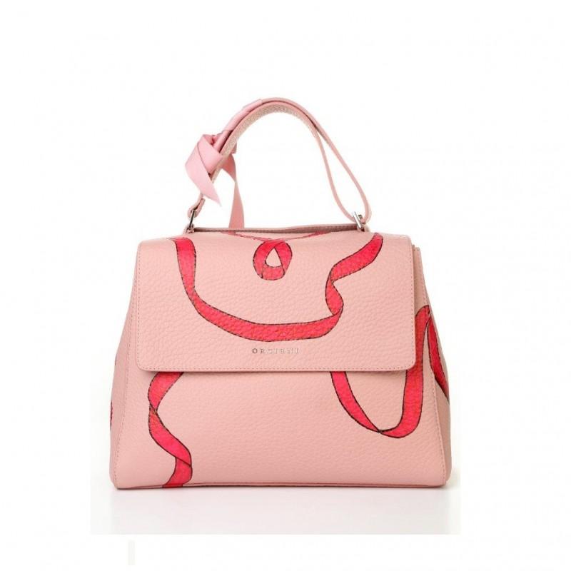 Sveva Pink Shoulder Bag by Federica Orciani