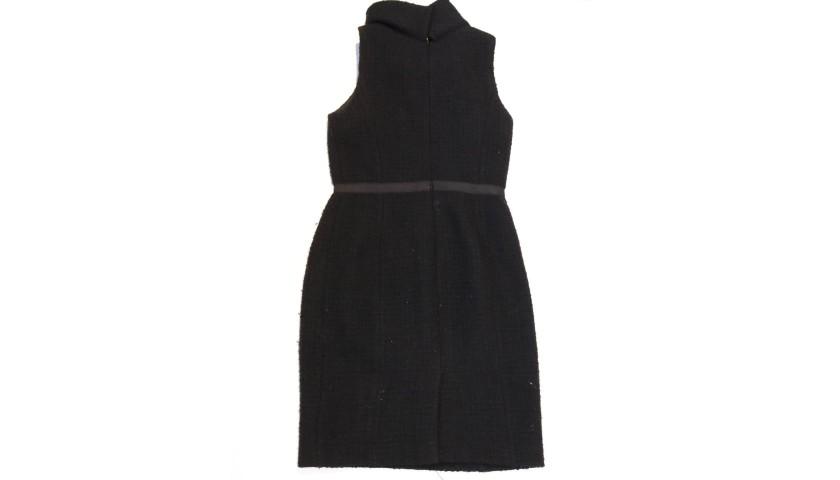 Black Hobbs Sleeveless Dress Worn by Debbie Bright