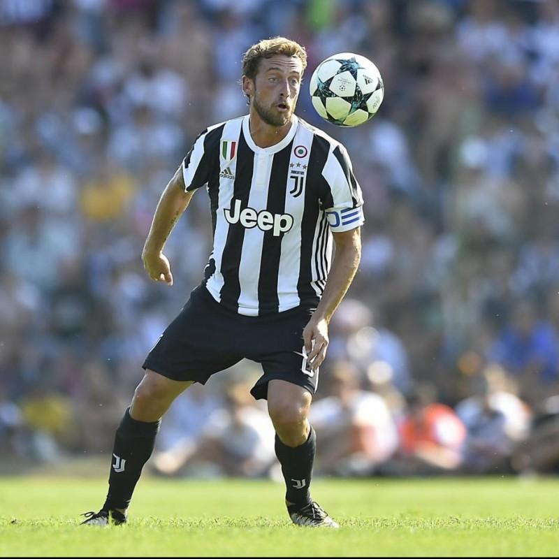 Signed Authentic Marchisio Juventus Shirt, 2017/18