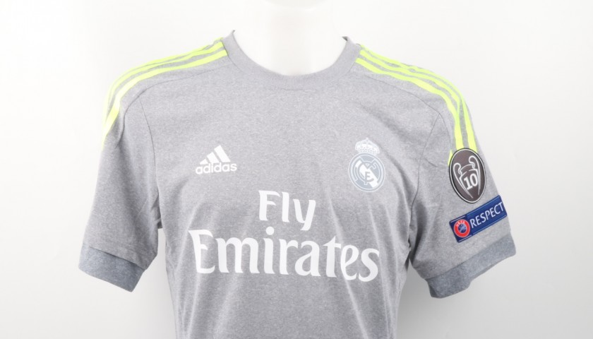 pretty nice a0832 31369 Kroos Real Madrid Issued/Match worn shirt, Champions League 2015/16 -  CharityStars