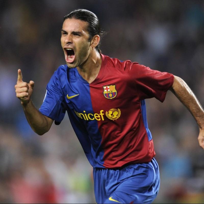 Marquez's Barcelona Match Shirt, Liga 2006/07