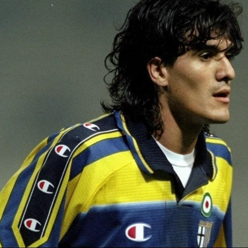 Maglia gara Ortega Parma, 1998/99 - Autografata