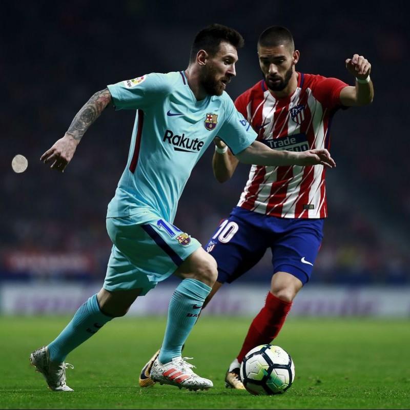 Messi's Match Shirt, Atletico Madrid-Barcelona 2017