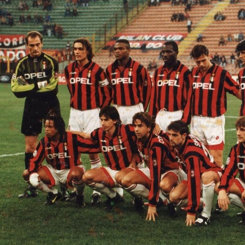 Sebastiano Rossi's Milan Match Shirt, 1996/97