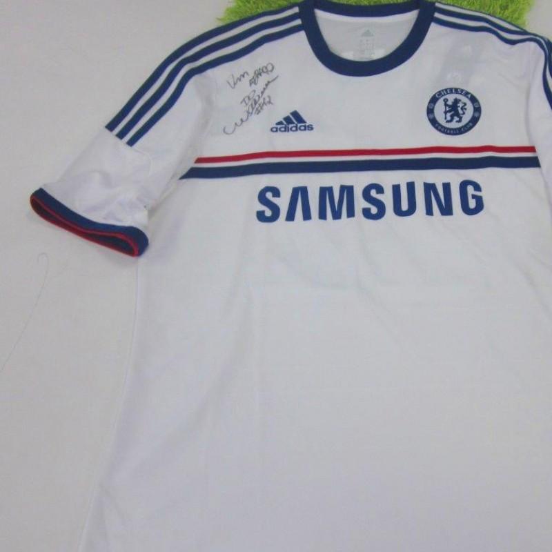 WIllian Chelsea away shirt 2013/2014 - signed