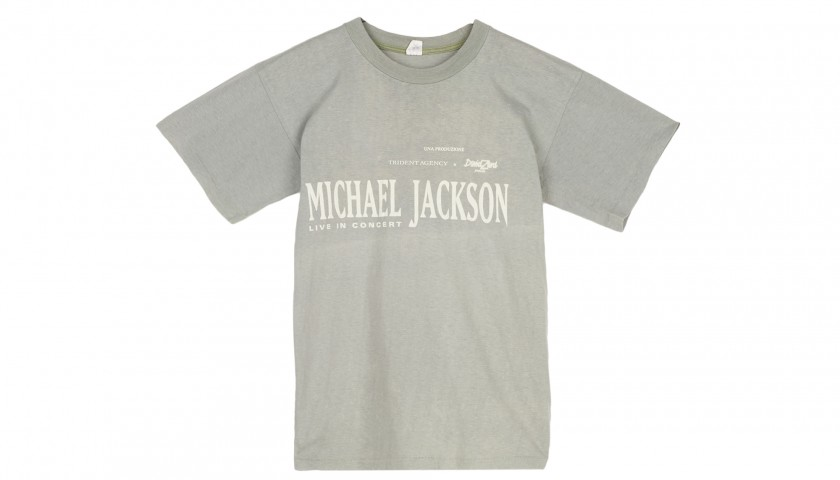 Staff T-Shirt from Michael Jackson's 1992 Tour