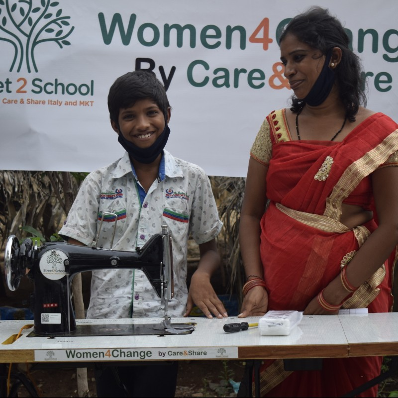 Donate 10 Sewing Machines to 10 Indian Women in Need