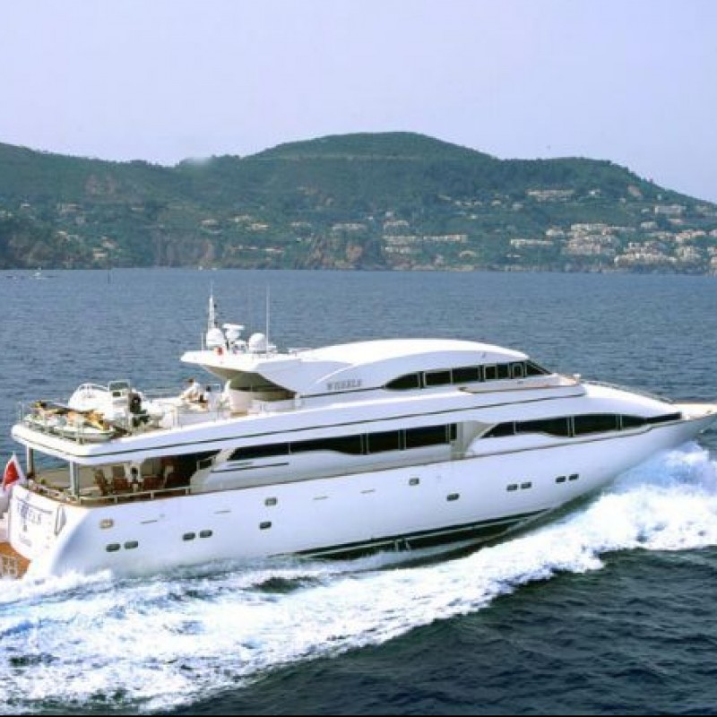 Attend the Monaco Grand Prix on a Luxury Yacht