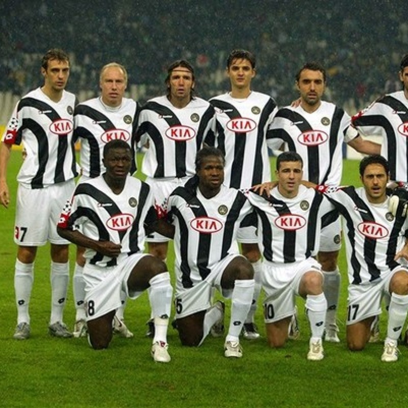 Zapata's Udinese Match Shirt, Serie A 2005/06
