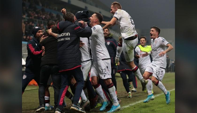 Rog's Worn and Unwashed Shirt, Sassuolo-Cagliari 2019