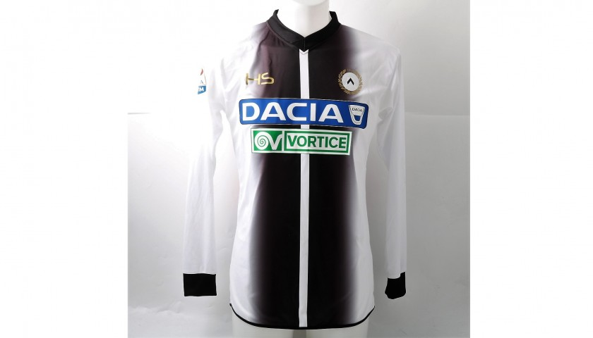 Perica's Signed Match-Issued Udinese Shirt, 2017/18 Serie A