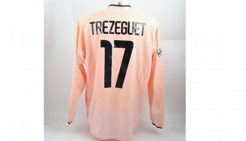 Trezeguet's Juventus Shirt, Issued/Worn Serie A 2003/04