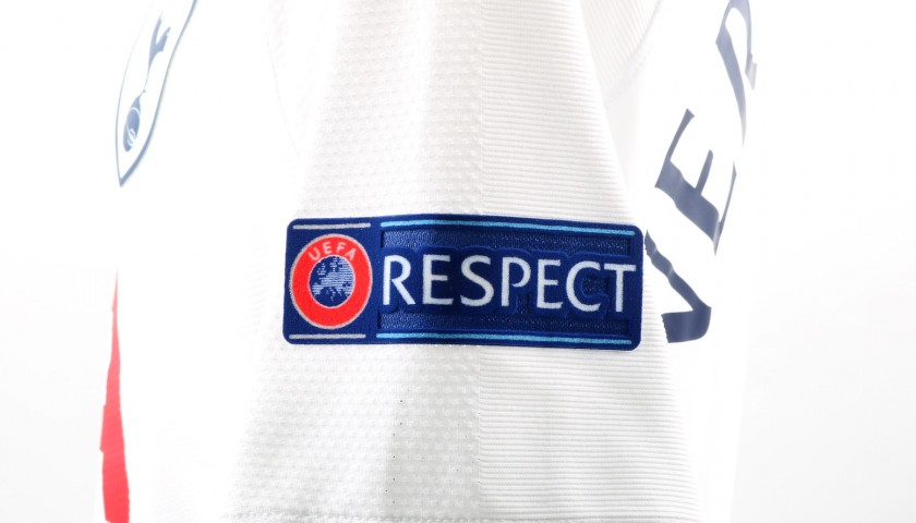 Vertonghen S Match Worn 2018 Tottenham Juventus Shirt Charitystars