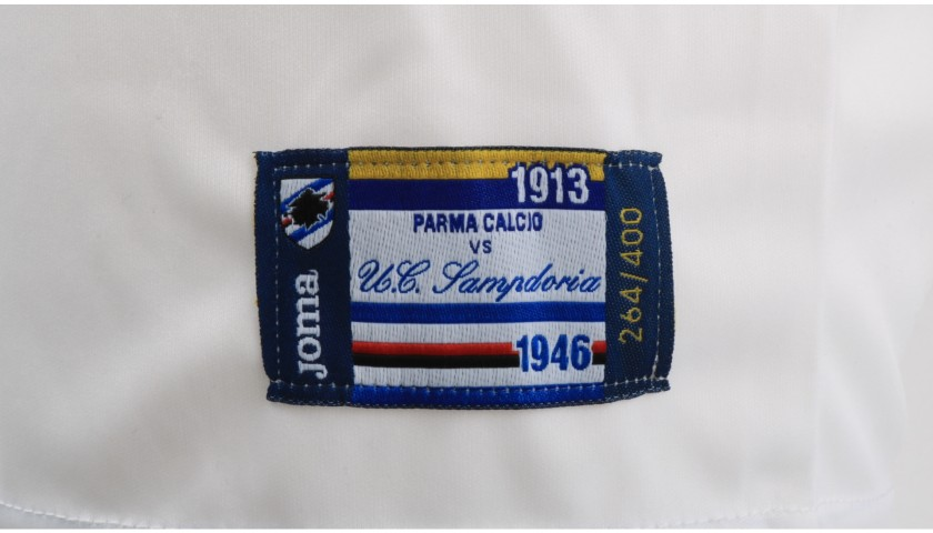 Barreto's Worn Shirt, Parma-Sampdoria - #Blucrociati