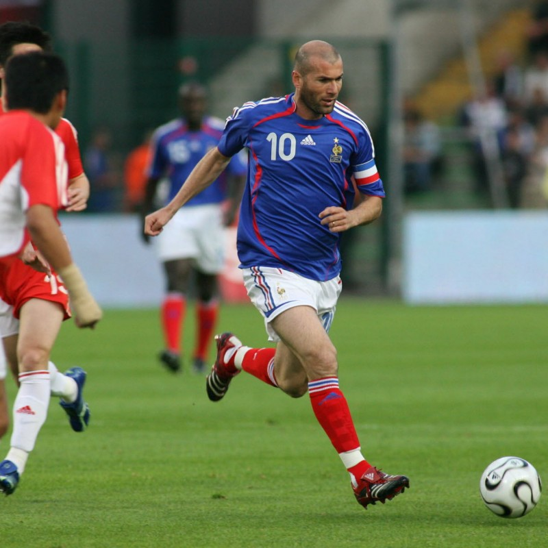Zidane's Official France Signed Shirt, 2006